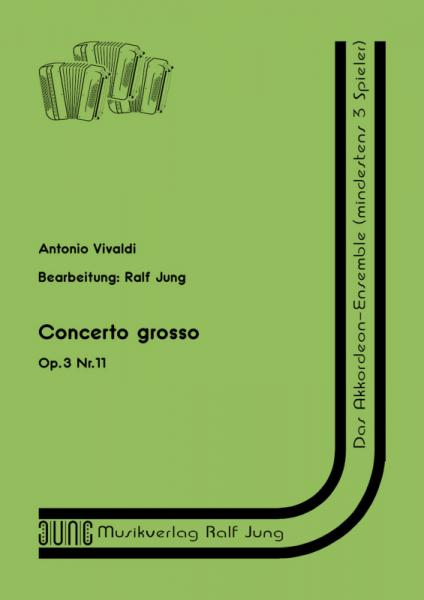 Concerto grosso op. 3, Nr. 11 (Partitur)