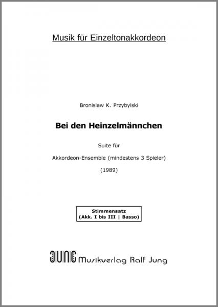 Bei den Heinzelmännchen (Stimmensatz)