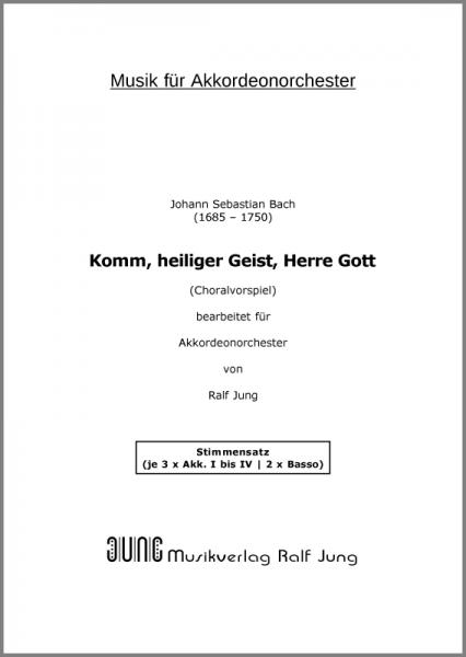Komm, heiliger Geist, Herre Gott (BWV 651) (Stimmensatz)