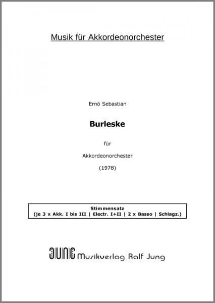 Burleske (Stimmensatz, 14 Einzelstimmen)