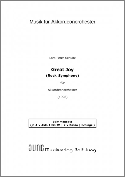 Great Joy (Stimmensatz, 19 Stimmen)