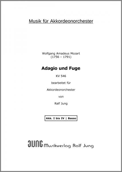 Adagio und Fuge (KV 546) (Ergänzungsstimme)