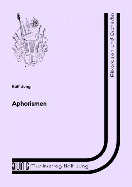 Aphorismen (Partitur)