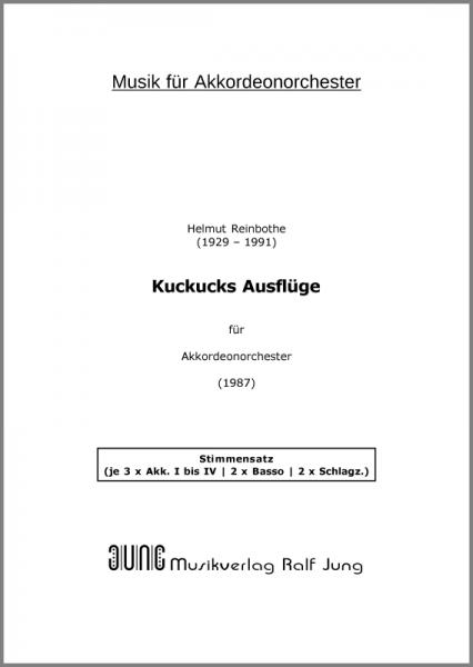 Kuckucks Ausflüge (Stimmensatz, 16 Stimmen)
