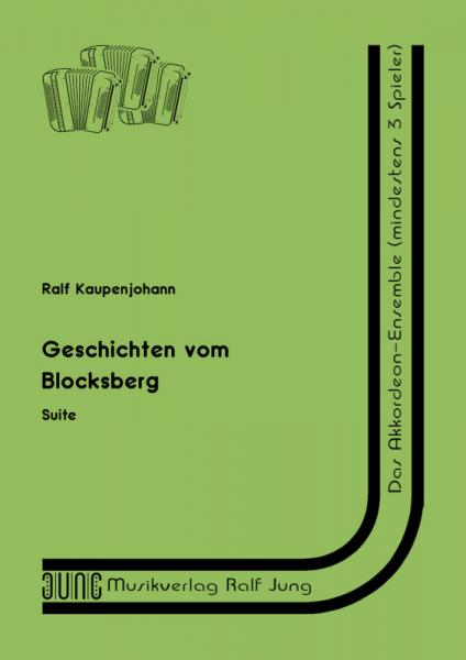 Geschichten vom Blocksberg (Partitur)