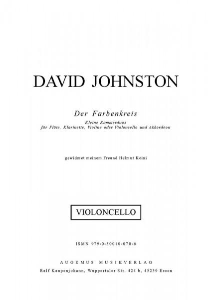 Farbenkreis (Violoncello)