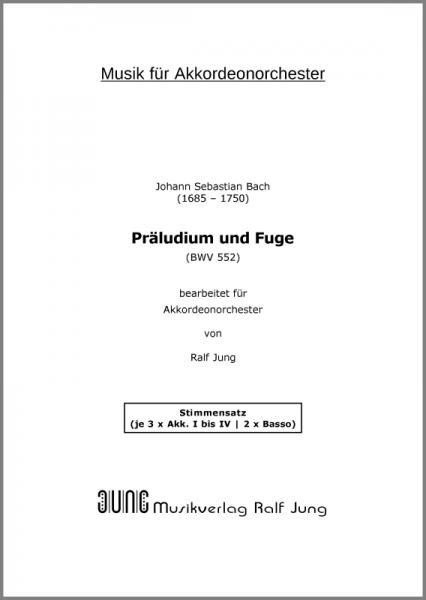 Präludium und Fuge Es-Dur (BWV 552) (Stimmensatz 14 Stimmen)