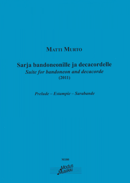 Suite for bandoneon and decacorde