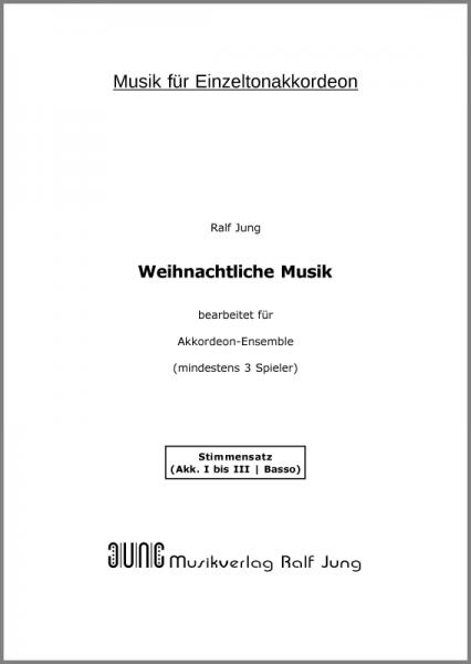Weihnachtliche Musik (Stimmensatz)