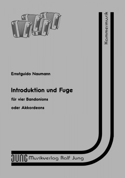 Introduktion und Fuge (Partitur)
