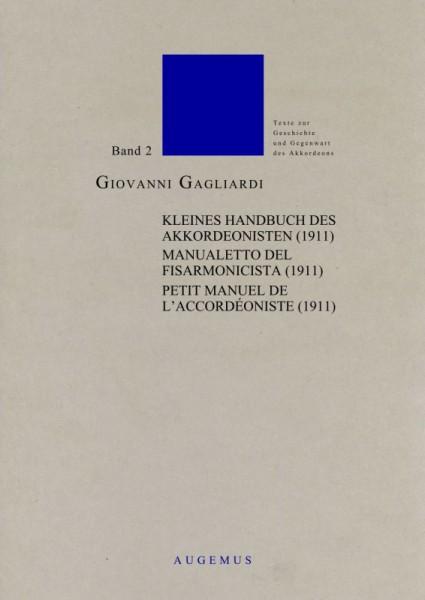 Kleines Handbuch des Akkordeonisten (1911) dt. - frz. - it.