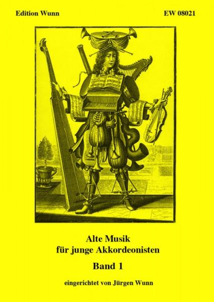 Alte Musik für junge Akkordeonisten, Band 1