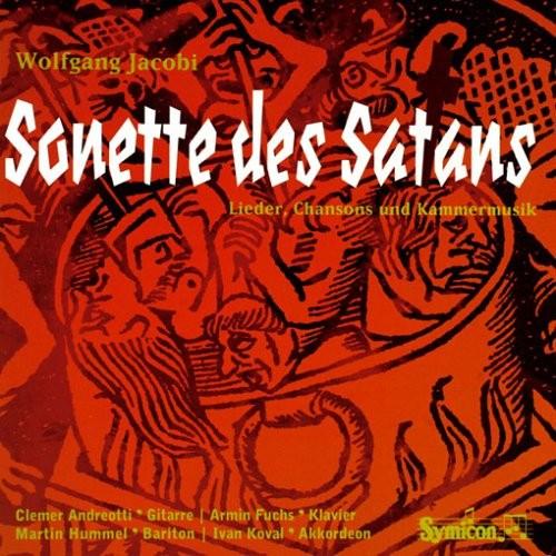 Wolfgang Jacobi - Sonette des Satans