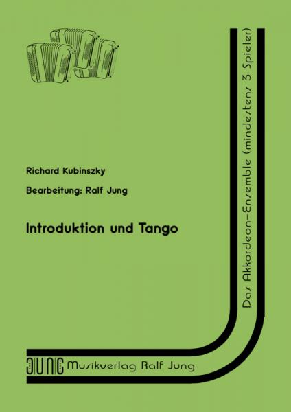 Introduktion und Tango (Partitur)