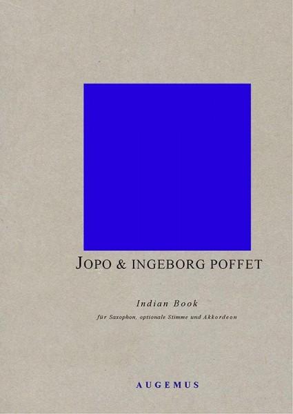 Indian Book (Partitur mit Saxophon-Stimmen + Akkordeon-Solo + Bols)