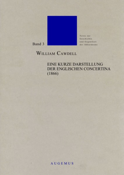 Kurze Darstellung der engl. Concertina (1866), erweitere Auflage