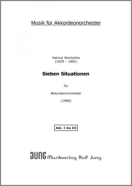 Sieben Situationen (Ergänzungsstimme Akkordeon I-III)