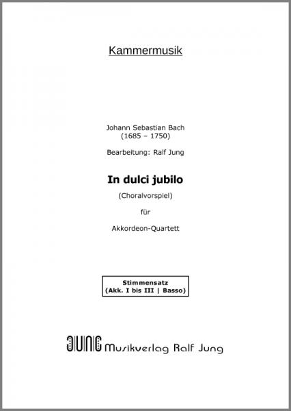 In dulci jubilo (BWV 729) (Stimmensatz)