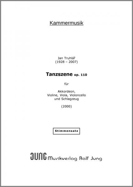 Tanzszene, op. 110 (Stimmen)