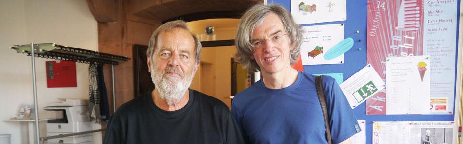 Lars Holm mit Ralf Kaupenjohann