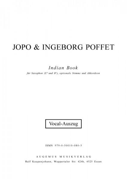Indian Book (Vocal-Auszug)