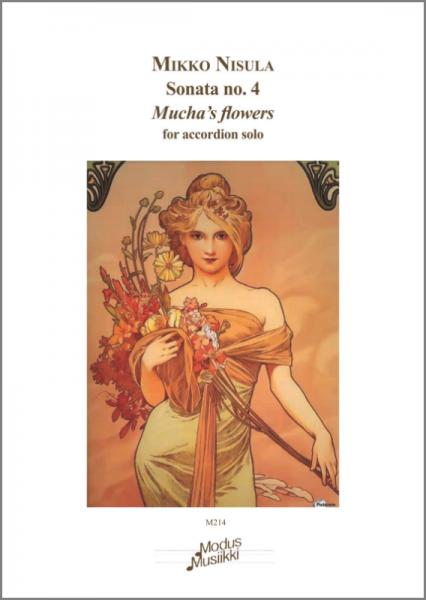 "Accordion Sonata no. 4 ""Mucha's flowers"", op. 40"