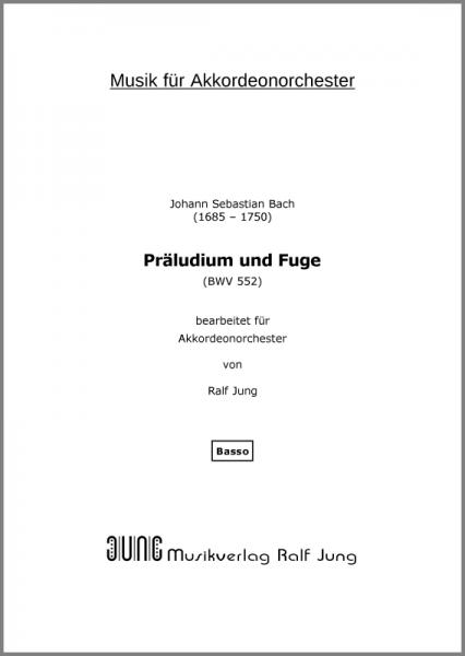 Komm, heiliger Geist, Herre Gott (BWV 651) (Ergänzungsstimme Basso)