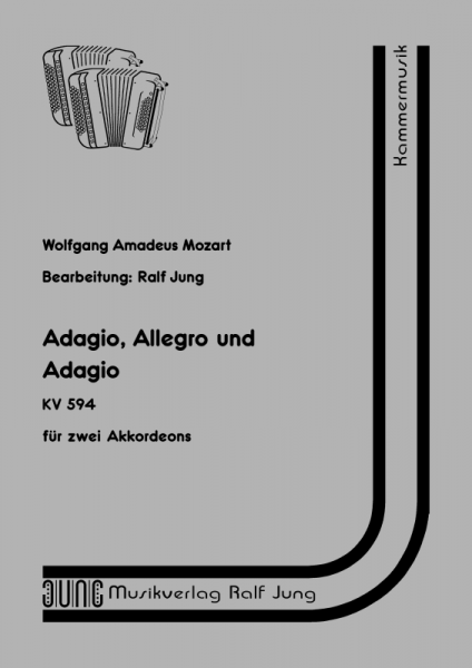 Adagio, Allegro und Adagio (KV 594)