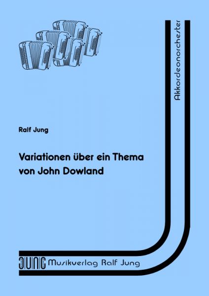 Variationen über ein Thema von John Dowland (Partitur)
