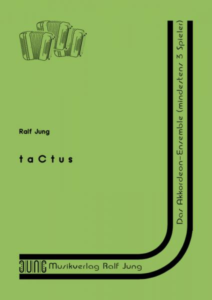 taCtus (Partitur)