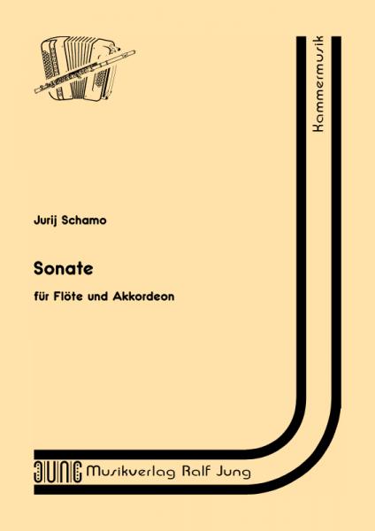 Sonate für Flöte und Akkordeon
