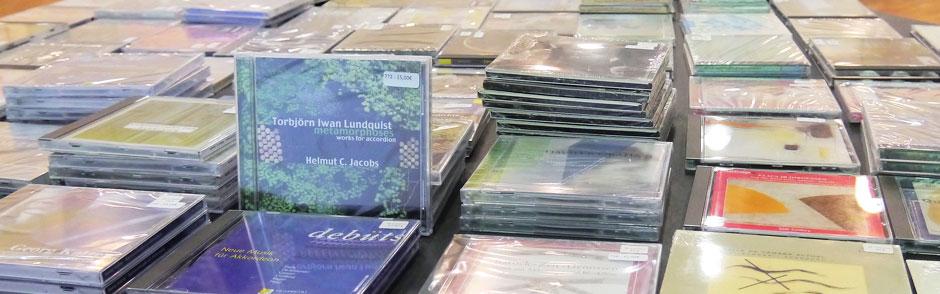 CDs beim Internationalen Seminar in Ottweiler (Saarland)