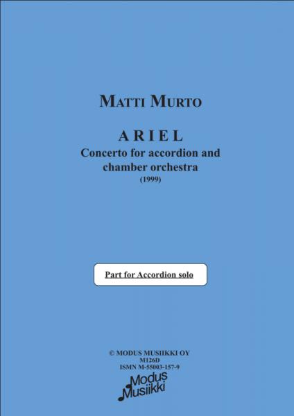 """Ariel"" (Akkordeonstimme)"