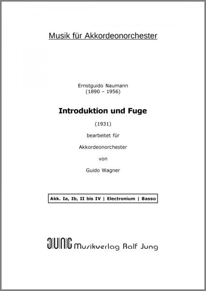 Introduktion und Fuge (Ergänzungsstimme)
