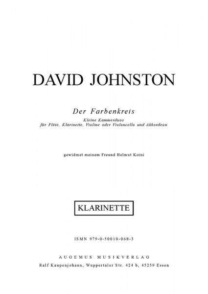 Farbenkreis (Klarinette)
