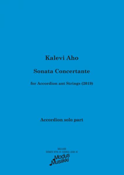 Sonata Concertante (Akkordeonstimme)