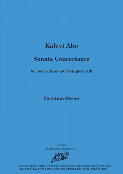 Sonata Concertante (Partitur)