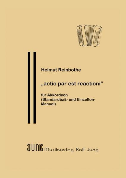 """""""actio par est reactioni"""""""
