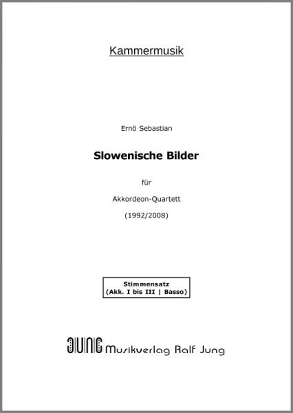 Slowenische Bilder (Stimmensatz)