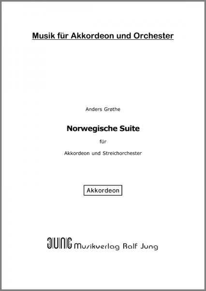 Norwegische Suite (Akkordeonstimme)