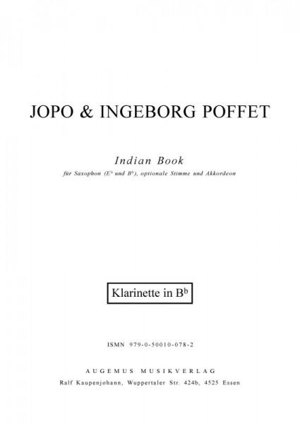 Indian Book (Klarinettenstimme)