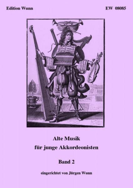 Alte Musik für junge Akkordeonisten, Band 2