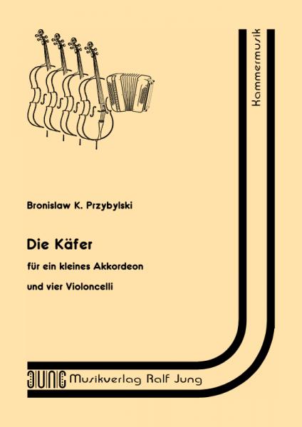 Die Käfer (Partitur)
