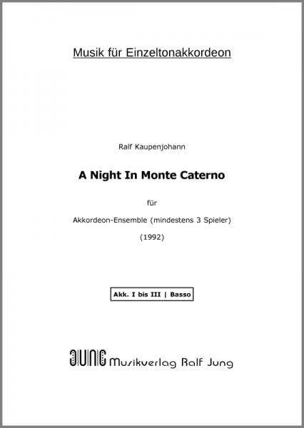 A Night In Monte Caterno (Stimmen)