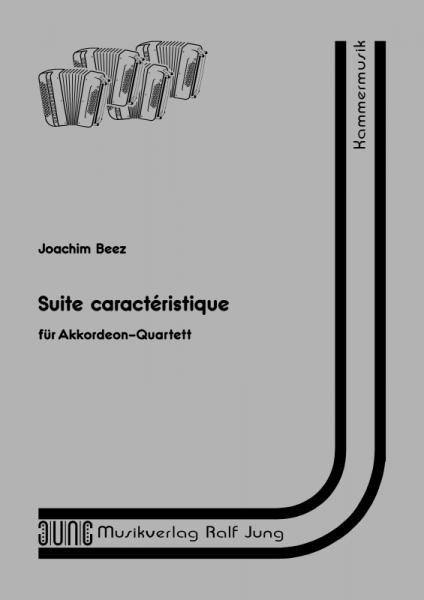 Suite caractéristique (Partitur) Suite in sechs Sätzen