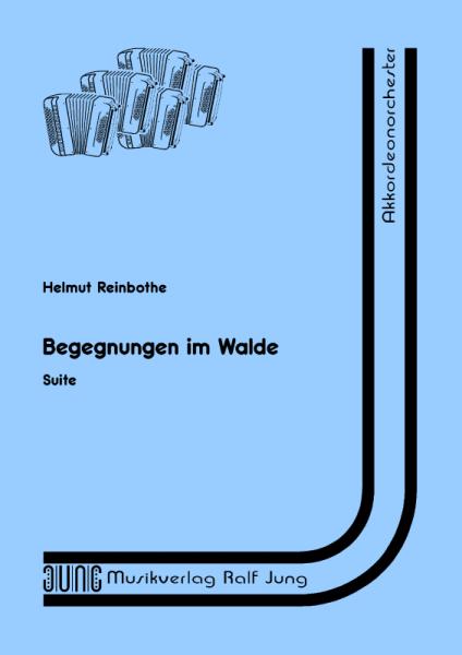 Begegnungen im Walde (Partitur)