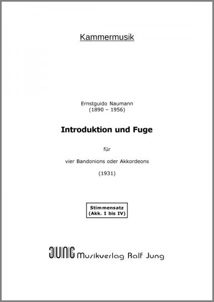 Introduktion und Fuge (Stimmensatz)