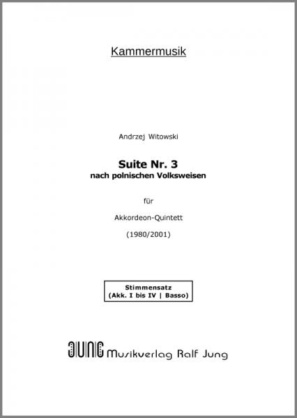 Suite Nr. 3 (Stimmen)