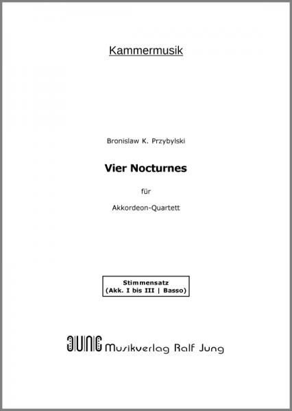 Vier Nocturnes (Stimmen)