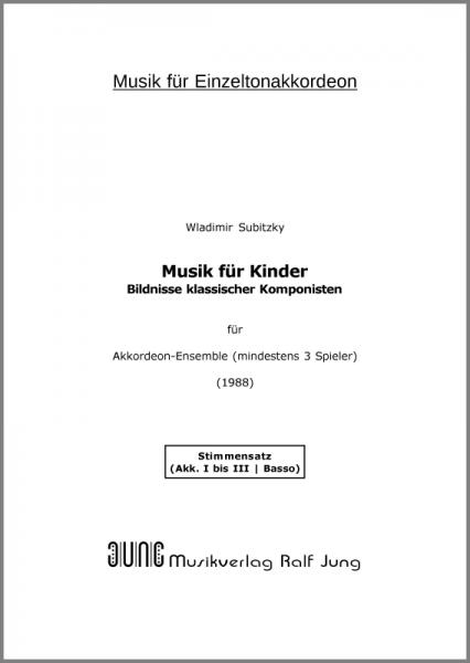 Musik für Kinder (Stimmensatz)